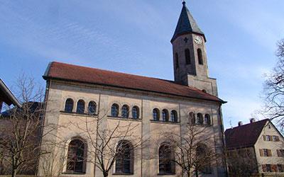 Kirche St. Martin zu Unteraltenbernheim Außenansicht